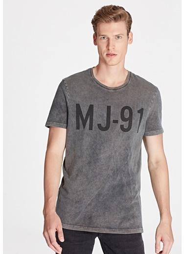Mavi Erkek  MJ Baskılı Black Pro Tişört 065990-900 Siyah